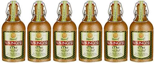 Hanf Wikinger Met, Das Original, 6 x 500m , Hanf, Im Tonkrug