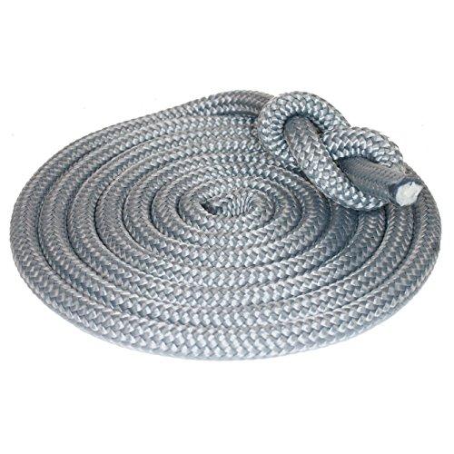 Outdoorseil ECO-Dock-PP Silber -Allzweck Seil Ø10mm Tauwerk Seil Länge: 10m