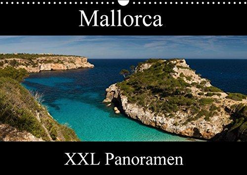 Mallorca - XXL Panoramen (Wandkalender 2016 DIN A3 quer): Impressionen von der Baleareninsel Mallorca im Panoramaformat (Monatskalender, 14 Seiten ) (CALVENDO Natur)