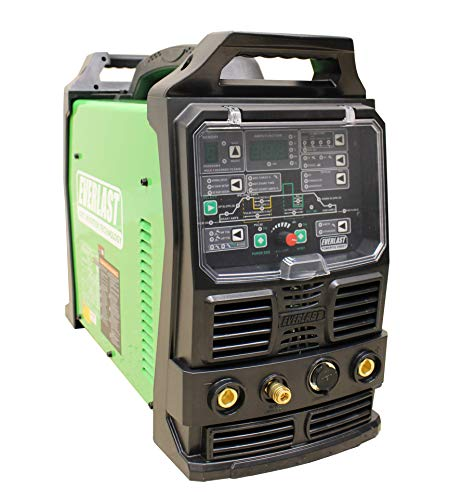 2021 Everlast PowerTIG 255EXT Digital AC/DC TIG Stick Pulse Inverter Welder 110v/220v Dual Voltage