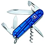 Victorinox 1.3603.T2 Couteau 8 P Translucide Bleu