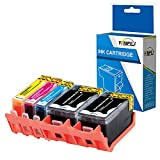 Fimpex Compatible Tinta Cartucho Reemplazo Para HP Officejet 6820 e-All-in-One Pro 6230 ePrinter Pro 6830 e-All-in-One 934XL 935XL (Negro/Cian/Magenta/Amarillo, 5-Pack)