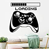 Loading Controller Pegatinas de Pared Pegatinas Pared Etiqueta de Pared Decoración Estilo Eat Sleep Game Calcomanía De Vinilo Creativa Papel Pintado Autoadhesivo Dormitorio DIY Decorativo