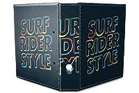 バインダー 2 Ring Binder Lever Arch Folder A4 printed Surfer style