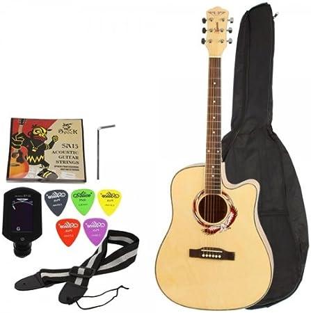 Acoustic Guitar Folk Guitar Mahogany Wood Beginner
