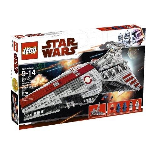LEGO Star Wars 8039 - Republikanischer Angriffskreuzer Venator Klasse