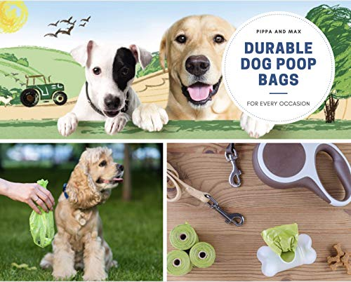 Pippa & Max Dog Poo Bags Biodegradable (300) - Extra Strong Eco Doggy Walking Poop Bags 3