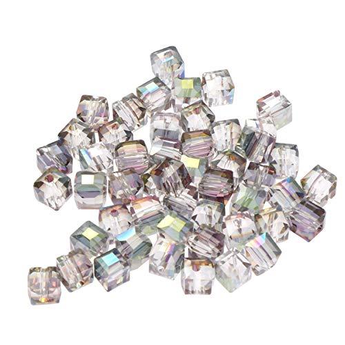 6mm Baoblaze Perles Rondes en Vrac Pierre Naturelle Fabrication de Bijoux Bracelets//Colliers Cr/éation Cadeau Multicolore