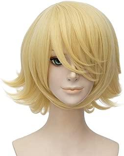 Best medium blonde cosplay wig Reviews
