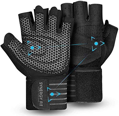 Guantes Sin Dedos Hombre  marca SYNERGY FIT
