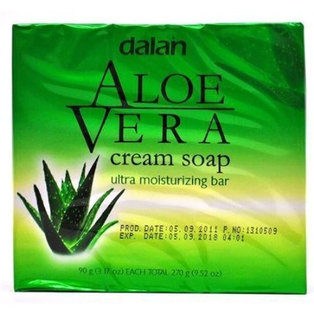 亜熱帯群集負荷Aloe Vera Cream Soap Ultra Moisturizer Conditioning 9.52 Oz [並行輸入品]