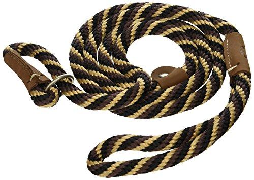 Mendota Dog Products British Style Slip Leash, 1/2-Inch by 6-Feet, Diamond Amber