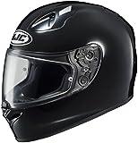 HJC FG-17 Full-Face Motorcycle Helmet (Black, X-Small)