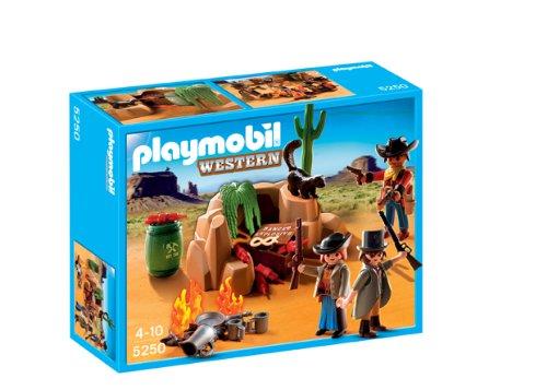 PLAYMOBIL - Escondite de los Bandidos, Set de Juego (5250)