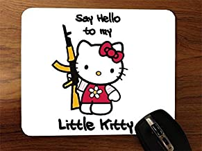 Hello Kitty Say Hello Ak47 Desktop Mouse Pad