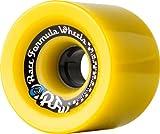 Sector 9 Race Formula Skateboard Wheel, Yellow, 72mm 78A