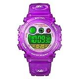 Watch for Girls Age 4-12, Purple Kids Digital...