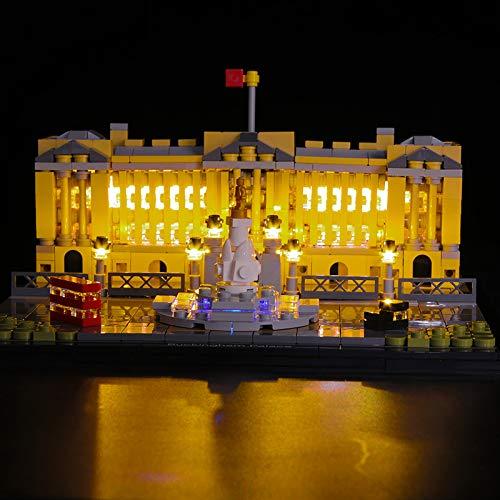 YGXS Cadena De Luces Lego, Adecuada para Iluminación LED 71043 del Castillo De Hogwarts Iluminación De Control Remoto Múltiples Colocaciones Creativas De Bricolaje Excluyendo Lego