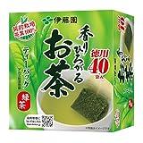 伊藤園 香りひろがるお茶 緑茶 ティーバッグ 40袋