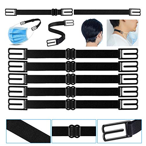 Mask Extender,Mask Ear Strap Hook for Masks with Adjustable for Nurses, Food-Workers, with High Elastic Fabric