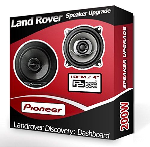 Speakers Land Rover Discovery Avant Dash Haut-parleurs Pioneer 10,2 cm 10 cm Haut-Parleur de Voiture Kit de 190 W