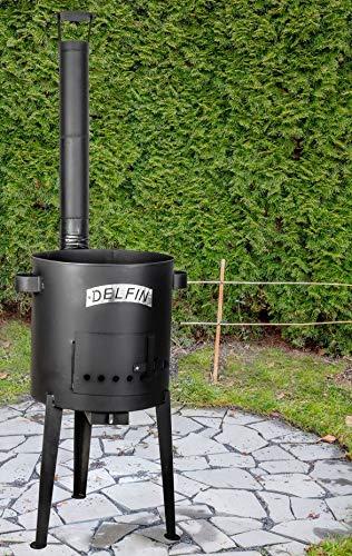 PPHU Delfin® Feldküche, Außenküche,Gulaschkanone für Gulaschkessel KTW2, ø 45 cm