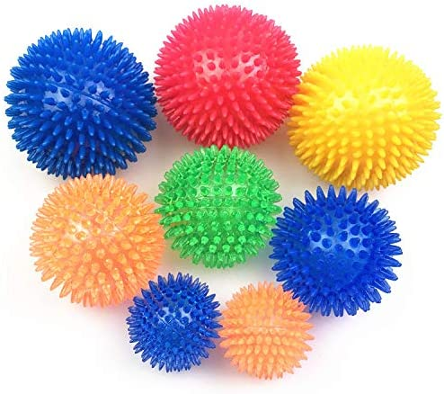 3PCS Dog Chew Ball Ranking TOP9 Toy Squeaky Shipping included Interactive Pet TPR