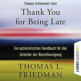 Couverture de Thank You for Being Late