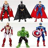 6pcs Superhero Avengers Iron Man...