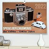 Spiegelreflexkameras der 1950er-1980er Jahre (Premium, hochwertiger DIN A2 Wandkalender 2021, Kunstdruck in Hochglanz)