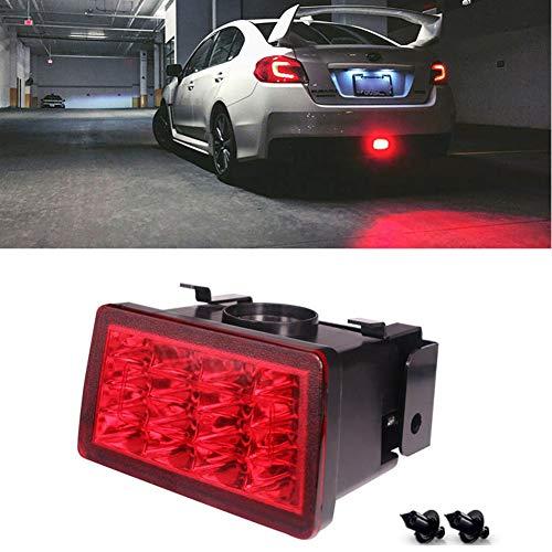 bester Test von subaru wrx sti IIWOJ LED Heckstoßstangenreflektor LED Rücklicht Nebelschlussleuchte Nebelschlussleuchte / Bremsblende 2011-Up…