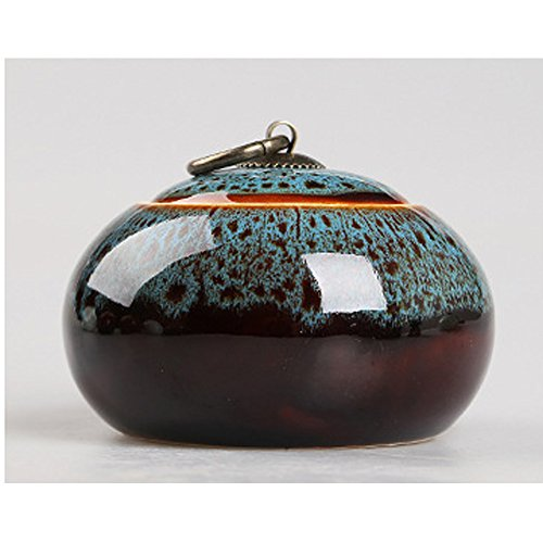 TAMUME Porzellan Tee Container (Glazed Blue)