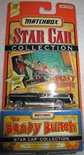 MATCHBOX STAR CAR COLLECTION SPECIAL EDITION THE BRADY BUNCH '55 CHEVY CONVERTIBLE by MATCHBOX