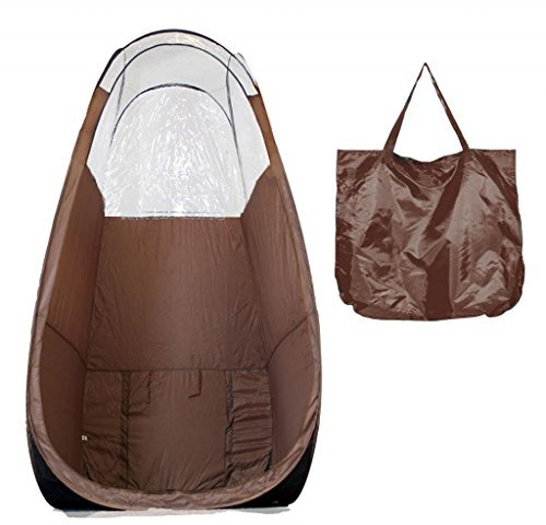The Original Instant Pop Up Airbrush Spray Tanning Tent-Brown