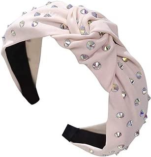 Kayaki レディース シンプル ファブリックアート ヘアヘッド バンドファッション シンプル 布アートヘアプレッシャーヘッドバンド 気質 ヘアアクセサリー 結婚式 パーティー ウェディング 誕生日 母の日 プレゼント 髪饰り