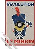 1art1 Minions Poster  91x61 cm  Revolution Le Mini