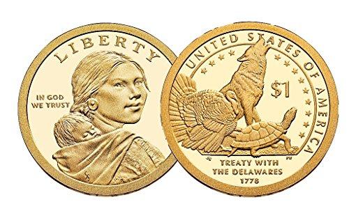 2013 P, D Native American (Sacagawea/Golden) Dollar 2 Coin Set Uncirculated