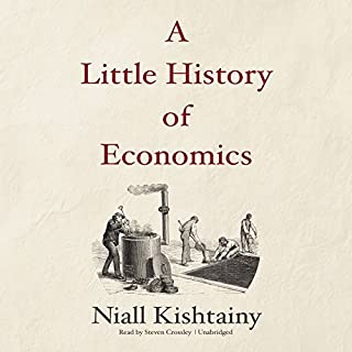 A Little History of Economics audiobook cover art