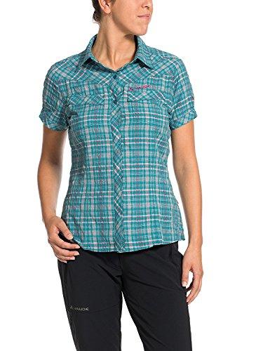 VAUDE Chemise Sare Tino, Femme, Bluse Sarentino Shirt, Reef, 44