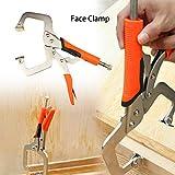 Face Clamp C-Zwingen für Holzbearbeitung und Schweißer