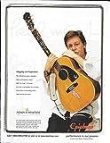 Epiphone - Paul McCartney - 1964 Texan - 2007 Advertisement