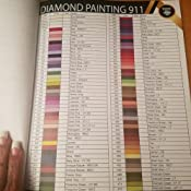Dmc Color Chart Book For Diamond Painting The Complete Table 2019 Dmc Color Card Painting 911 Diamond 9781947880078 Amazon Com Books