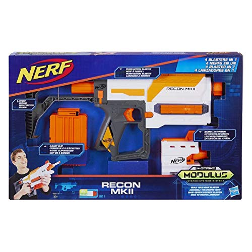 Hasbro B4616EU40 - Nerf Modulus Recon MKII Spielzeugblaster