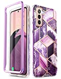 i-Blason Cosmo Series for Samsung Galaxy S21 Plus 5G Case, Slim Stylish Protective Case Without Built-in Screen Protector (Ameth)