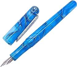 Cappuccio a vite maestro Sea Shell fp-2 Non esistono due penne identiche. Xezo naturale paua abalone fine penna stilografica Placcato platino