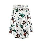 Kobilee Abrigo de mujer para otoño e invierno, elegante, largo con capucha, tallas grandes, forro...