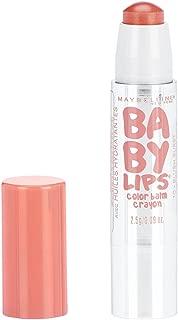 Maybelline New York Baby Lips Color Balm Crayon, Blush Burst, 0.09 oz.