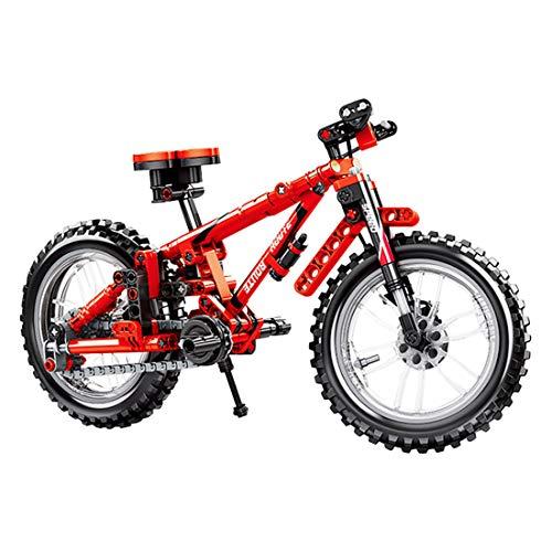 Children's Hands-on DIY Bicycle Assembling Building Blocks (306+pcs) Suitable for Children's Science...