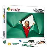 Rompecabezas de 500 piezas para adultos Cristiano Ronaldo Rompecabezas de bricolaje de 500 piezas, colorido y desafiante juego de rompecabezas, juegos educativos para niños de 14+ 52x38cm