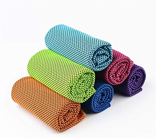 Camping handdoek Sport Towel Cooling Towel Sport Handdoeken Stay Cool handdoek for Sport Zwemmen, Vrouwen, Yoga, Workout, Atleten, Gym, Neck, Golf, Travel Multi-Purpose Workout handdoek for mannen en